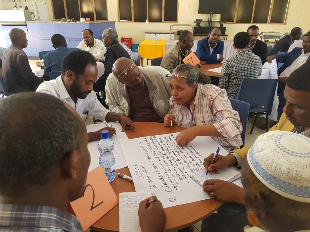 © Mulugate Gadissa/Welthungerhilfe November 2019, Bishoftu, Land for Life Ethiopia Steering Committee Meeting